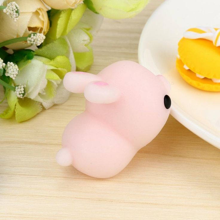 Toys For Children Cute Mochi Squishy Cat Squeeze Healing Fun Kids Kawaii Toy Stress Reliever Decor Anti Stress juguete