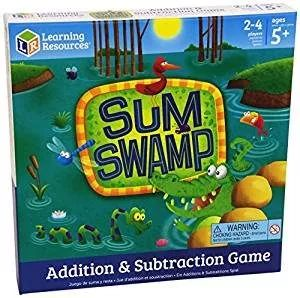 51 Math Games for Kids : Sum Swamp