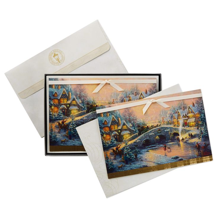 Thomas Kinkade's #HolidayCard is fitting to send to all of the special people on your #Christmas list. http://bit.ly/2g5qdvf