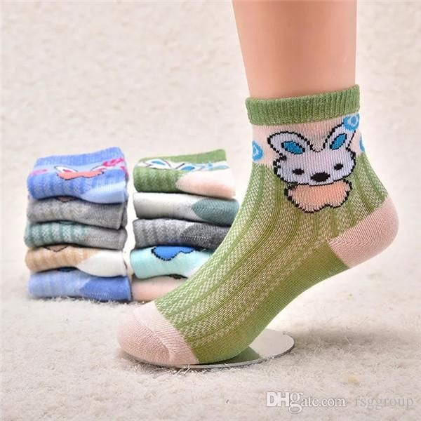 New Cotton Cartoon Fluffy Short Socks Baby Boy Girl Toddler Kids Winter Sock