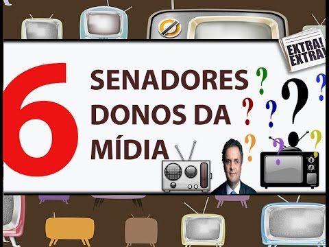 Donos da Mídia: 6 Senadores  Confira aqui os perfis dos 6 senadores  '171'  da comunicação no brasil.   PARTICIPE!  Vamos juntos nessa luta contra o colonialismo midiático.  QUERO O FIM DOS OLIGOPÓLIOS DA MÍDIA -  (ASSINAR) #pluralidade #diversidade #liberdade #democracia  #ContraPLespião #NãoPL215 Eu quero o fim dos oligopólios e monopólios de mídia, a transparência nas concessões de canais de rádio e televisão, o fortalecimento da comunicação pública e comunitária, e a diversidade e a…
