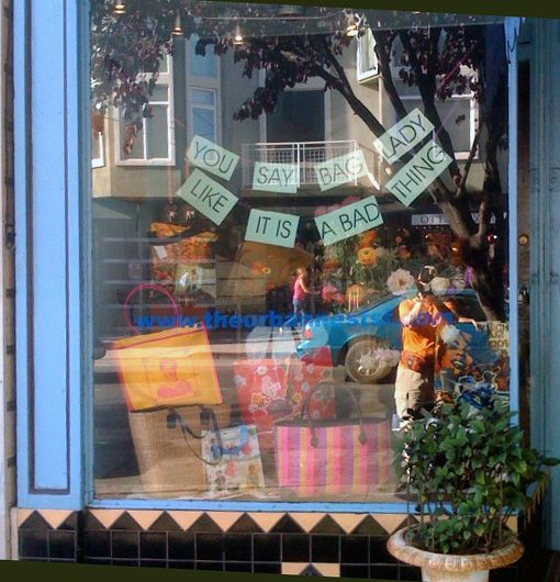 summer Window Display Ideas   ... window display of this hip boutique. It's true, they didn't usually