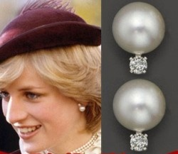 Daimi Natural Love White 9 10mm Nice Pearl Earrings Jewelry Infp Princess Diana Pinterest