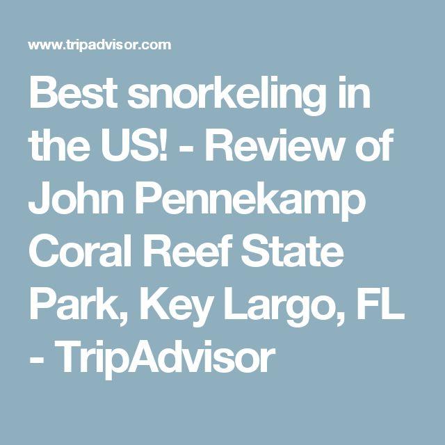 Best snorkeling in the US! - Review of John Pennekamp Coral Reef State Park, Key Largo, FL - TripAdvisor