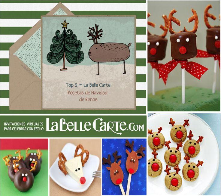 Tarjetas de navidad tarjeta de navidad recetas dulces de - Postales de navidad faciles para ninos ...