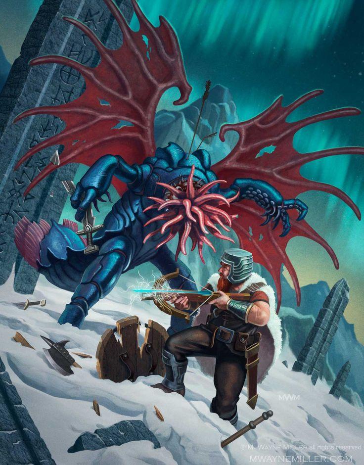 Cover for Midgard Sagas, Kobold Press.