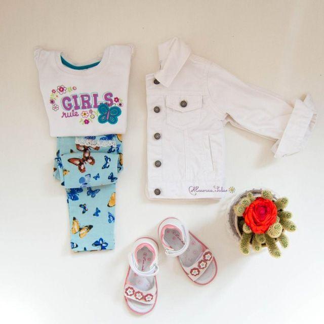 Белый джинсовый пиджак Carter`s для девочки с Алиэкспресс - http://aliotzyvy.ru/belyj-dzhinsovyj-pidzhak-carters-dlya-devochki-s-aliekspress/