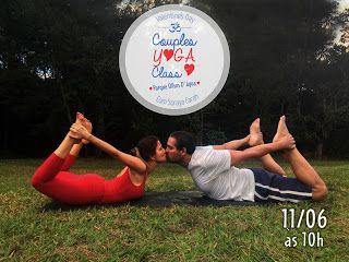 ALEGRIA DE VIVER E AMAR O QUE É BOM!!: CUIDADOS PESSOAIS #12 - Aula de Yoga para Casais
