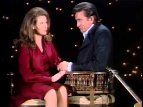Johnny Cash & June Carter Cash 'Cause I Love You Live The Johnny Cash TV Show 1970 - YouTube