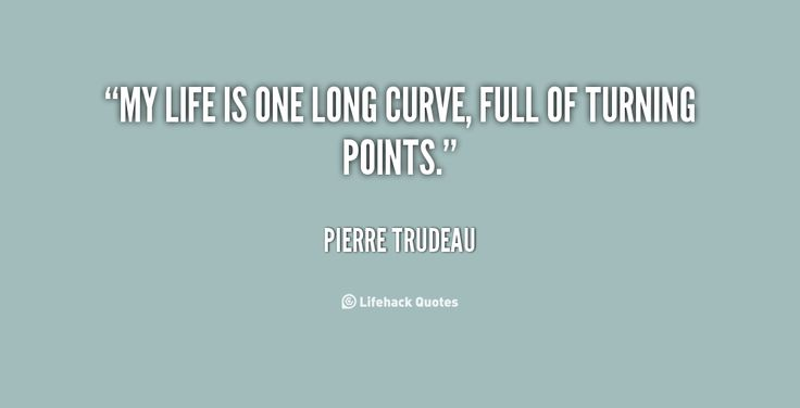 My life is one long curve, full of turning points #CelebrateCurves