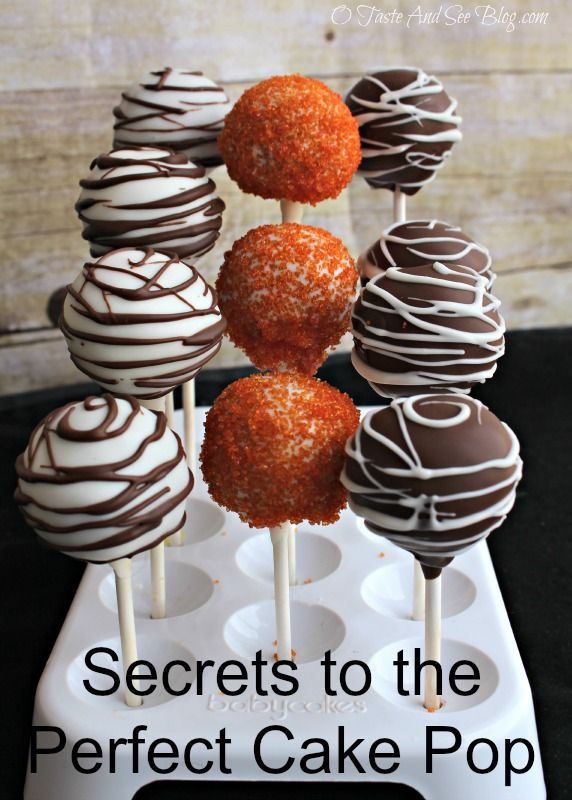 10 Secrets to the Perfect Cake Pops | http://otasteandseeblog.com/10-secrets-to-the-perfect-cake-pops/