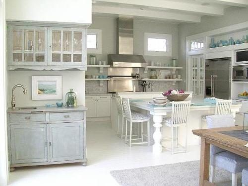 My love of food created my love for cooking. My love of cooking has created my love for beautiful kitchens. If I could hug this kitchen, I'd do it.