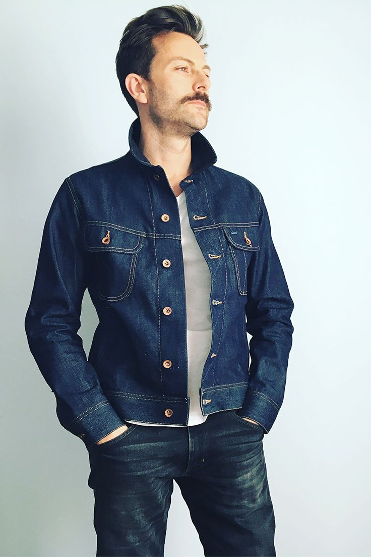 547cf300c9 The long haul jacket in cone mills selvedge denim taylor stitch available  jpg 736x1104 Long haul