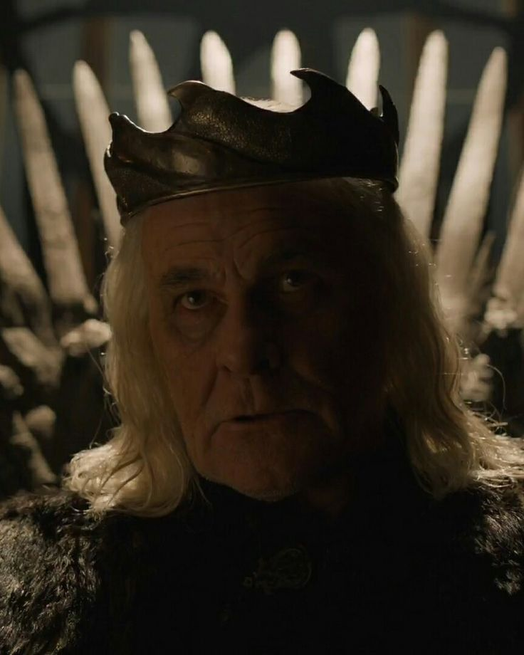 Daenerys' Dad; the Mad King Aerys II (6x6)