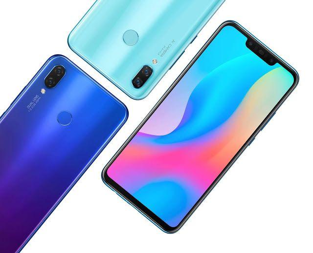 اطلاق هاتف Huawei Nova 3i الأنيق والعصري للبيع الآن في العراق إضافة جديدة لسلسلة هواتف Huawei Nova 3 Huawei Smartphone Ram Card