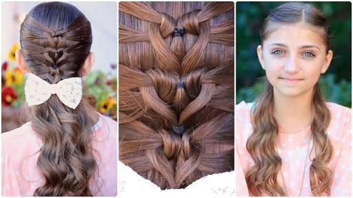 Image result for cool hairstyles for girls