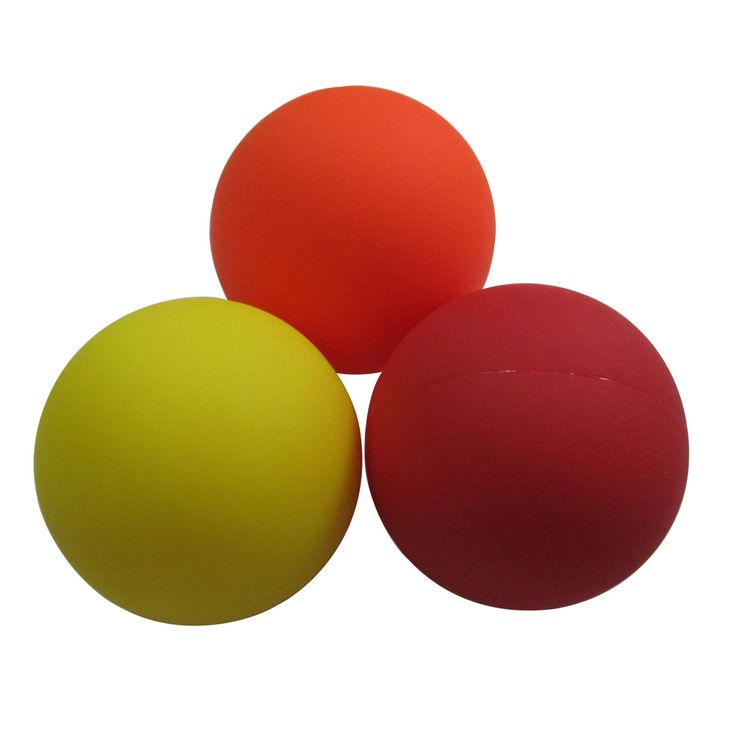 ActionLine KY-21020 Massager Balls, Muscle Knot Relief Balls (Set of 3),