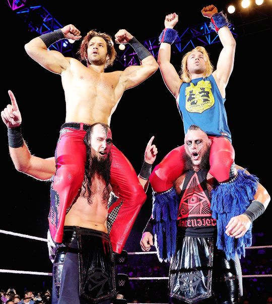 Tyler Breeze, Fandango and Ascention