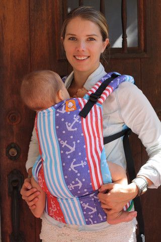 (Toddler Size) Half Wrap Conversion Tula Baby Carrier - Kokadi Ahoi