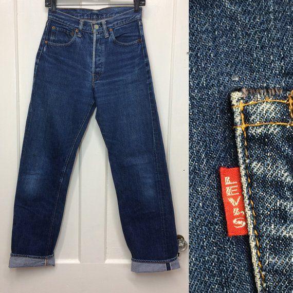 698c6ec5050 image 0 Redline, Indigo Blue, Boyfriend Jeans, Blue Jeans, Levis, 1960s