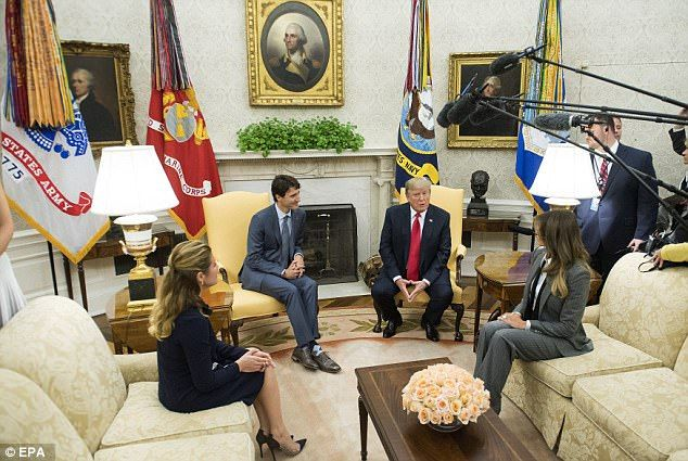 'Great prime minister!' Trump gives Trudeau a very warm welcome