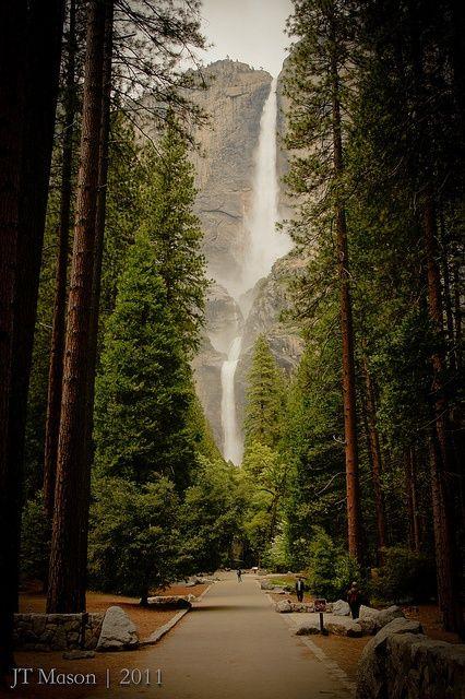 Yosemite Falls in USA   #MostBeautifulPages