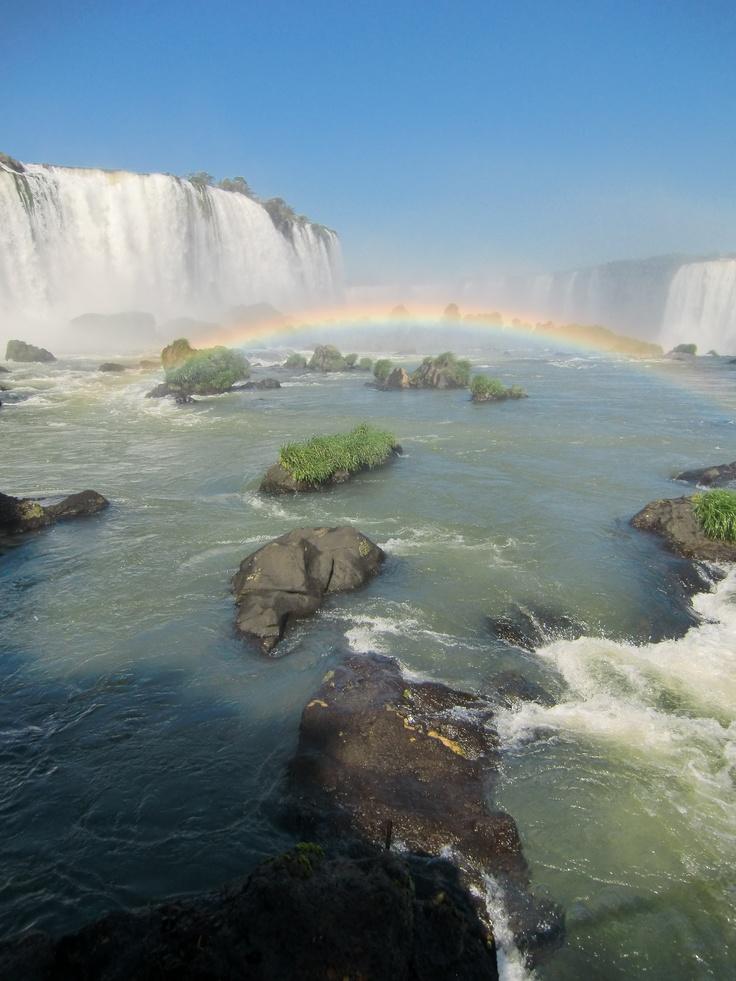 Cataratas del Iguazú, Brasil.
