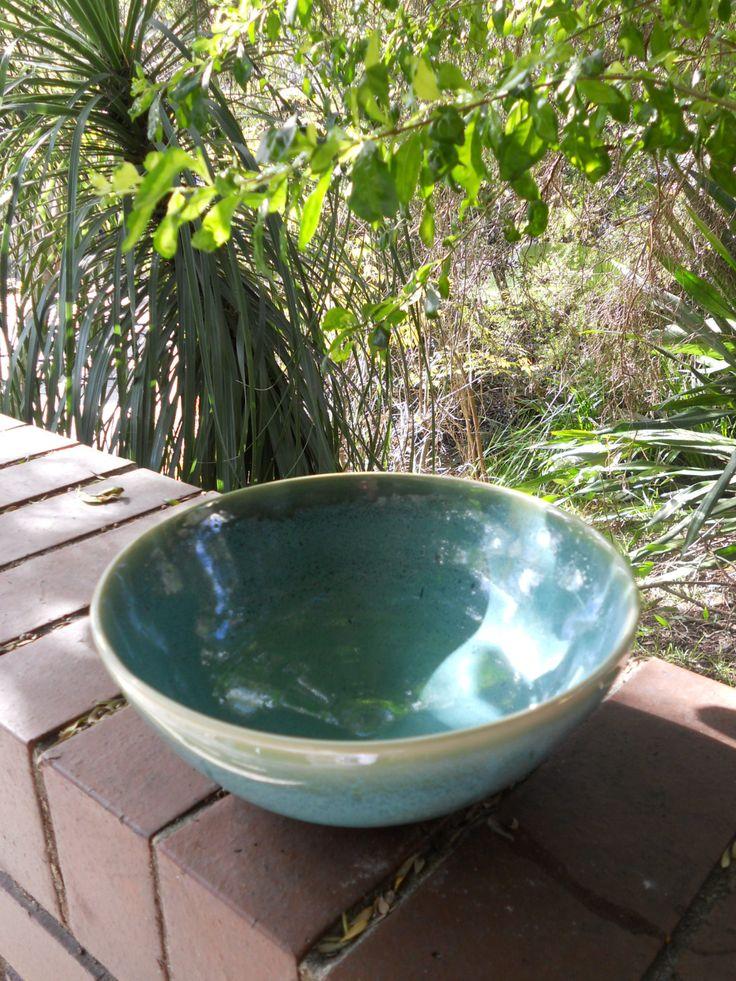 Stoneware Cone 10 bowl by Janine Flew