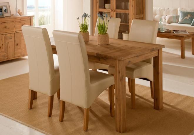 Furniture Village Dining Chairs table and 4 chairs - sandy cove - gorgeous dining room furniture
