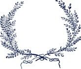 Flourish: Illustration Styles, Laurel Wreaths, Laurel Wreath Tattoo, Clip Art, Google Search, Lavender, Diy Wedding
