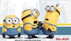 Gewinne mit dem travel.ch #Minions #Gewinnspiel eine Familienreise nach New York im Wert von CHF 7'000.- , sowie diverse Sofortpreise wie Minions-Rollkoffer, @Minions Kinotickets, Minions-Taschen und mehr! http://www.alle-schweizer-wettbewerbe.ch/gewinne-eine-familienreise-nach-new-york/