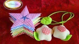 Схема оригами звезды