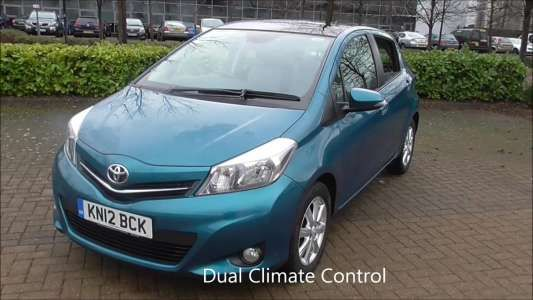 Used 2012 (12 reg) Turquoise Toyota Yaris 1.33 VVT-i T Spirit 5dr for sale on RAC Cars Check This Awsome Car for Sale out! Car is lowered on 18s but comes with stock rims and a brand new tire. It has dark tinted windows .Also comes with a new aftermarket passenger fender. Car is parked on Pacific ave in Tacoma next to the gas station on the corner of 64th and Pacific. If after seeing it you are interested get ahold of me for a test drive. Cash takes it home today 1900 OBO. Clean title.
