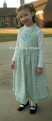 Utrolig nem kjole