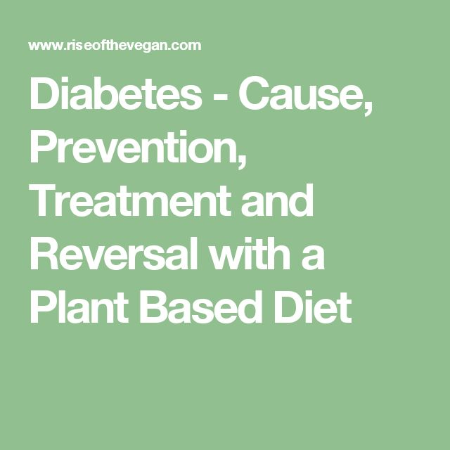 Reversal and prevention diets