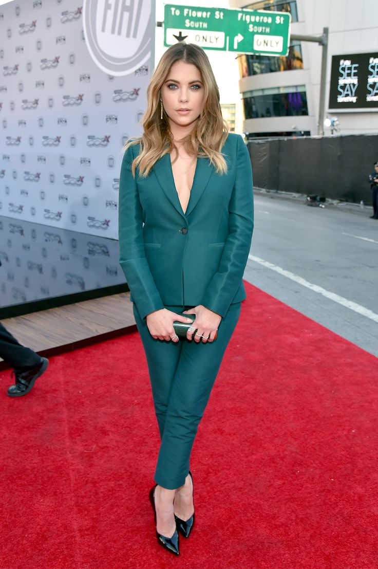 AMA Awards 2015 - Ashley Benson In Max Azria.