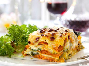 Vegetarian #dinner idea: roasted ratatouille #lasanga. #Yummy