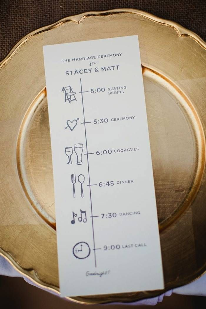 Best 25 Wedding reception program ideas on Pinterest Reception