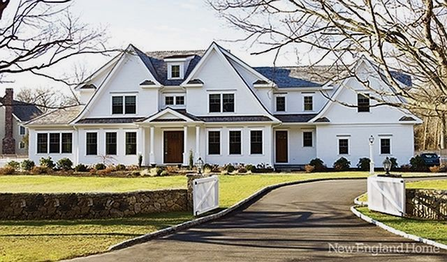 1000 images about new england farmhouse on pinterest for Newengland homes