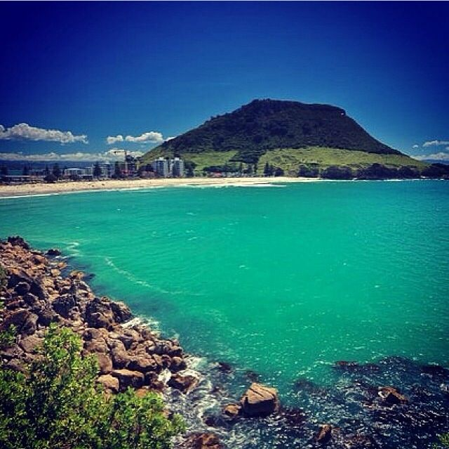My happy place  The Beautiful Mount Maunganui at Christmas time 2013