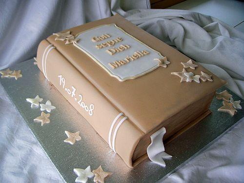 Tutorial: Buch-Torte