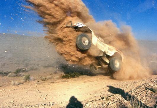 """Bull Dozer"" trophy truck dirt 2009 Baja 1000"