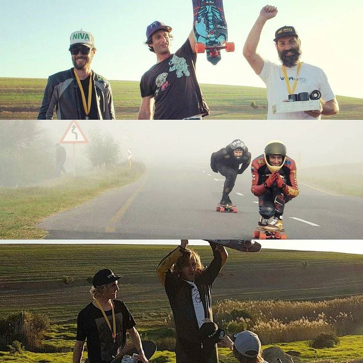 #LongboardStellenbosch was repped hard this weekend at the #faircapedownhillchallenge this past weekend! Major props to LongStells OG's @fatant_za & @rickiallardice for taking 1st in the Master's & Open respectively. Stoooooked!  Massive well done to the organisers as well as all the riders that took part!  @sagra_za @firstnature_ @niva by longboardstellenbosch
