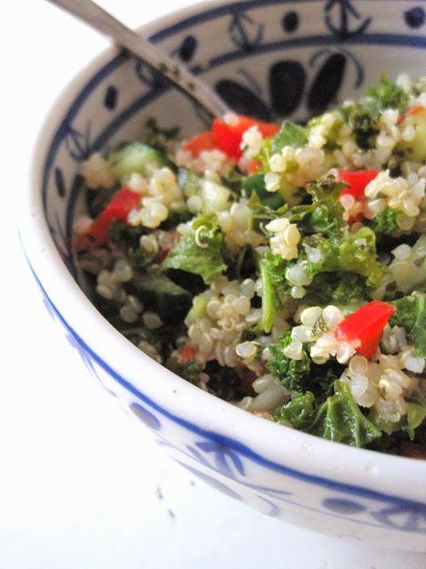 Doce Vika  Quinoa Tabbouleh med Grønnkål