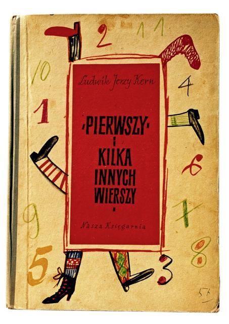 Pierwszy i Kilka, Warszawa 1956, cover by Henryk Tomaszewski