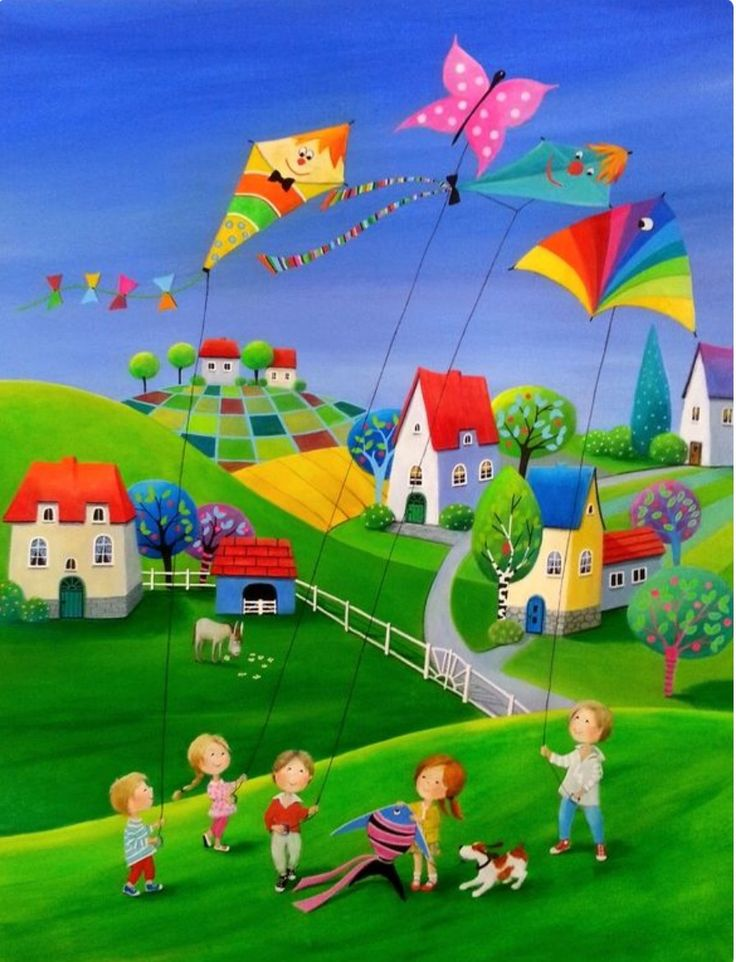 ¡Cometas! Vacaciones...amiguitos..La infancia es una gran etapa de la vida ¡NO APUREMOS A LOS CHICOS!... Tienen toda la vida para ser grandes.
