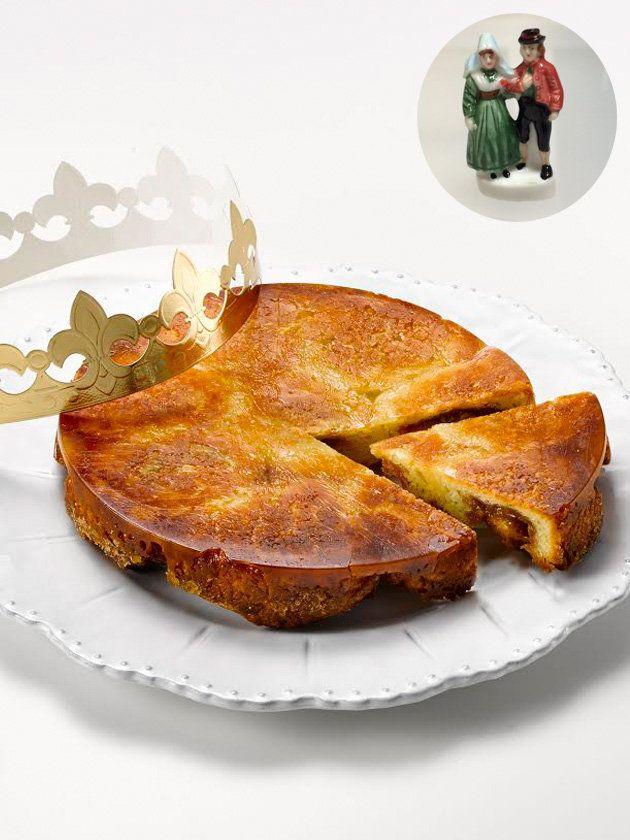 【ELLE a table】「アンリ・ルルー」の「ガレットデロワ・オ・クイニーアマンC.B.S.」|エル・オンライン