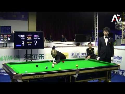 2015 Chinese 8-Ball World Championship - Lim Yun Mi vs Allison Fisher - YouTube