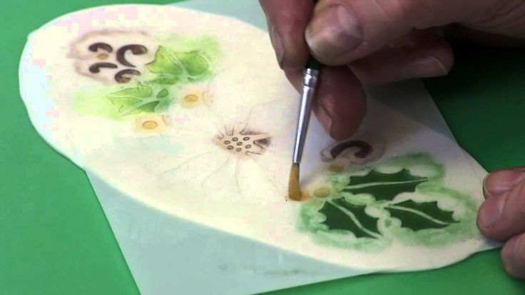 Patchwork Cutters - Using the Poinsettia Stencil