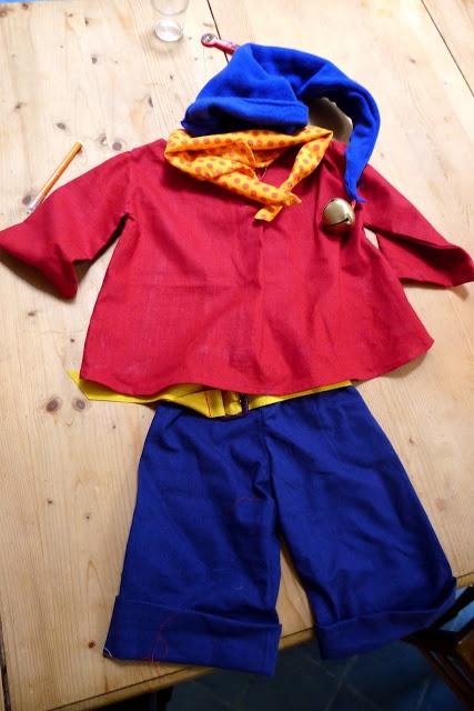 Quatre Pommes - déguisement Oui oui / Noddy | what I sew | Pinterest